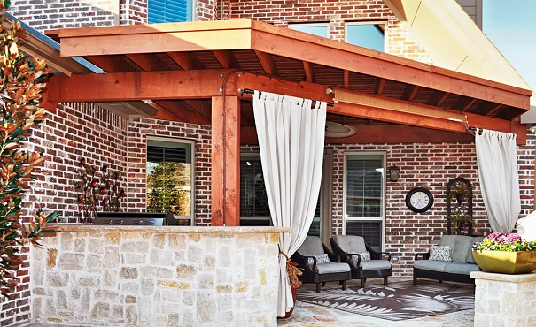full-service outdoor living design Frisco