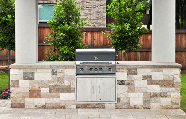 CUSTOM OUTDOOR KITCHENS IN FRISCO, TEXAS
