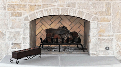 Stone fireplaces in Frisco