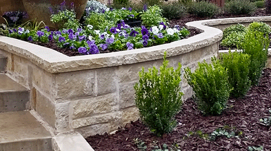 stone retaining walls in frisco