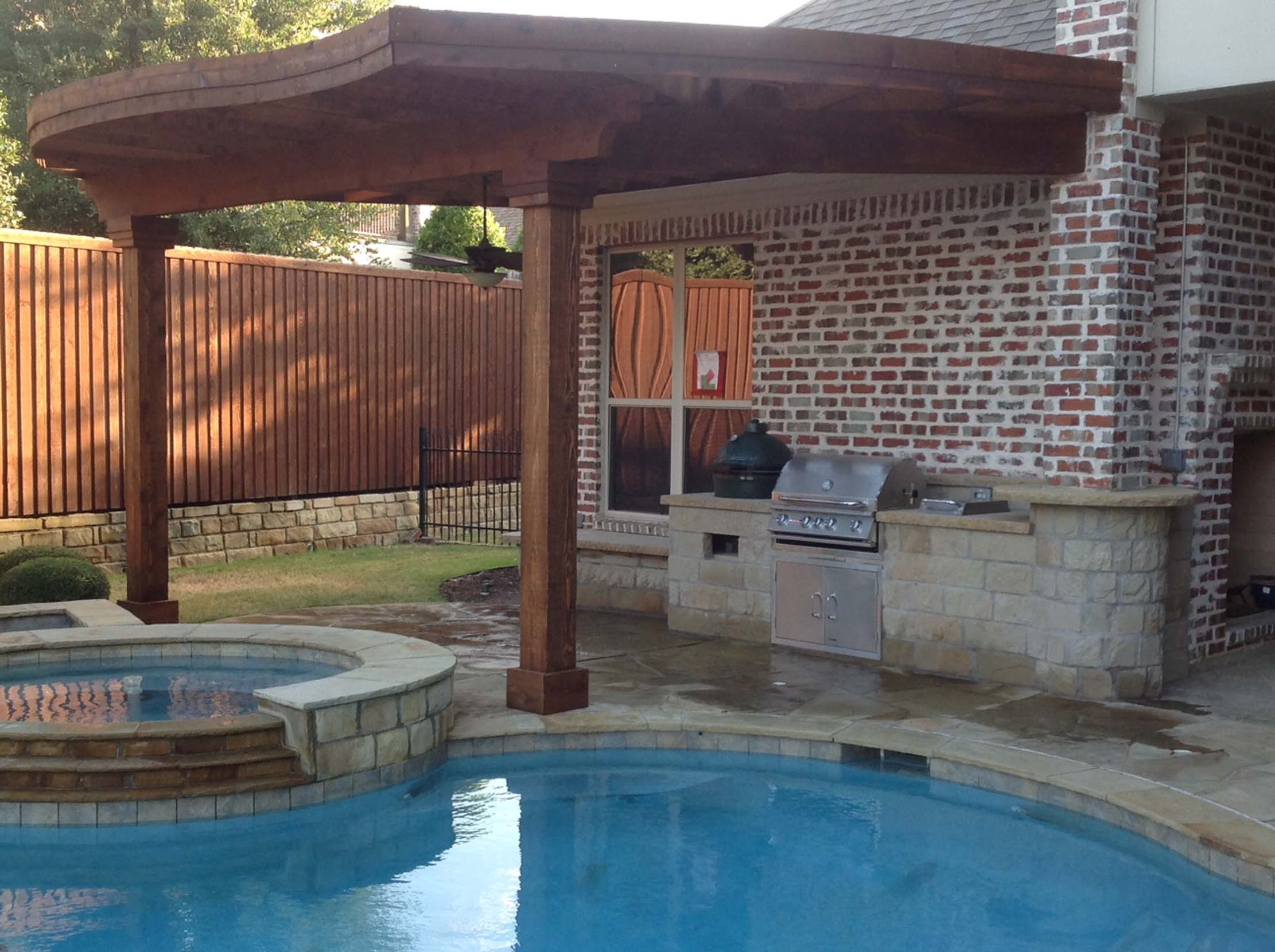 Grill and Patio Cover